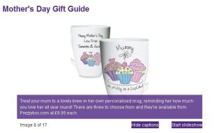 Personalised Cup Cake Latte Mug