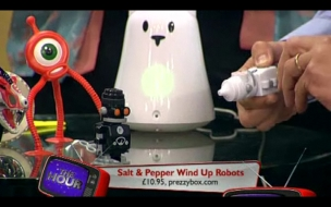 Salt & Pepper Wind Up Robots