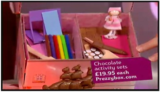Chocolate Activity Box - Dolls House
