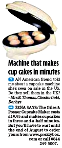 The 3 Minute Cupcake Maker
