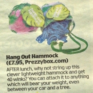 Hang-Out Hammock