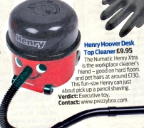 Henry Desk Top Vacuum Cleaner