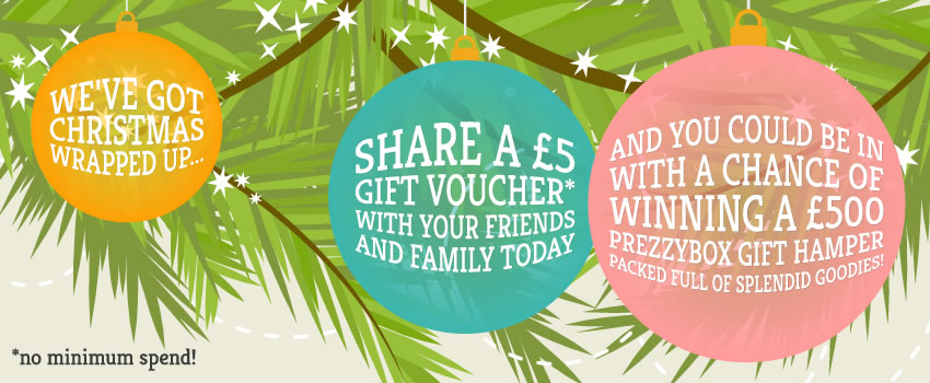 Win a £500 Prezzybox Hamper