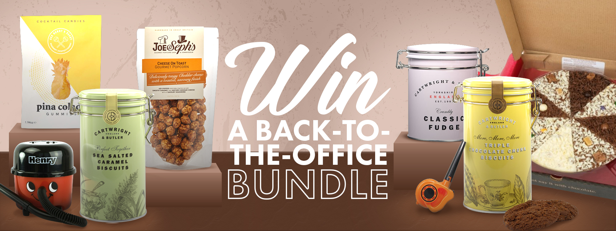 Win a Back To The Office Bundle with Prezzybox!