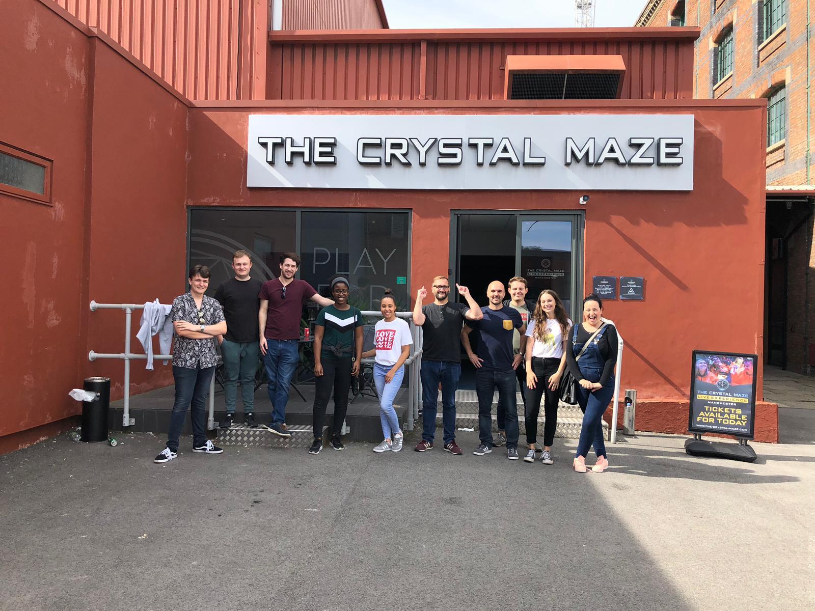 Team photo of the Prezzybox team.