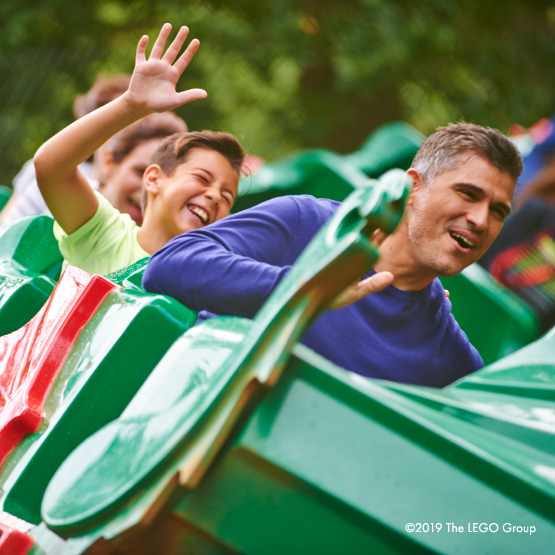 Win a family trip to LEGOLAND Windsor with an overnight stay!
