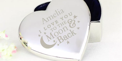 Personalised Jewellery Boxes