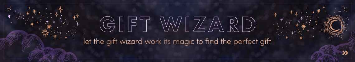Let the Gift Wizard work its magic to find the perfect gift