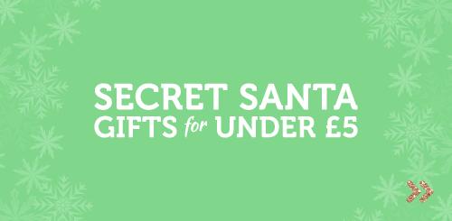 Secret Santa Gifts Under 5